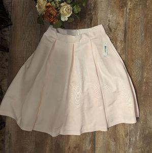 NEW Eliza J Faille Midi Skirt Women's sz 14 blush